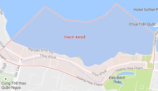 hút bể phốt tại phường thụy khuê tây hồ